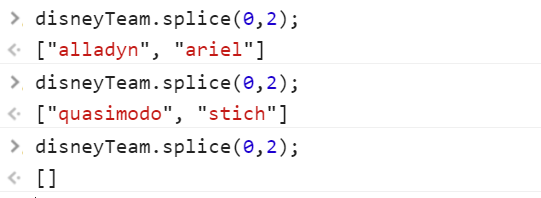 splice js example